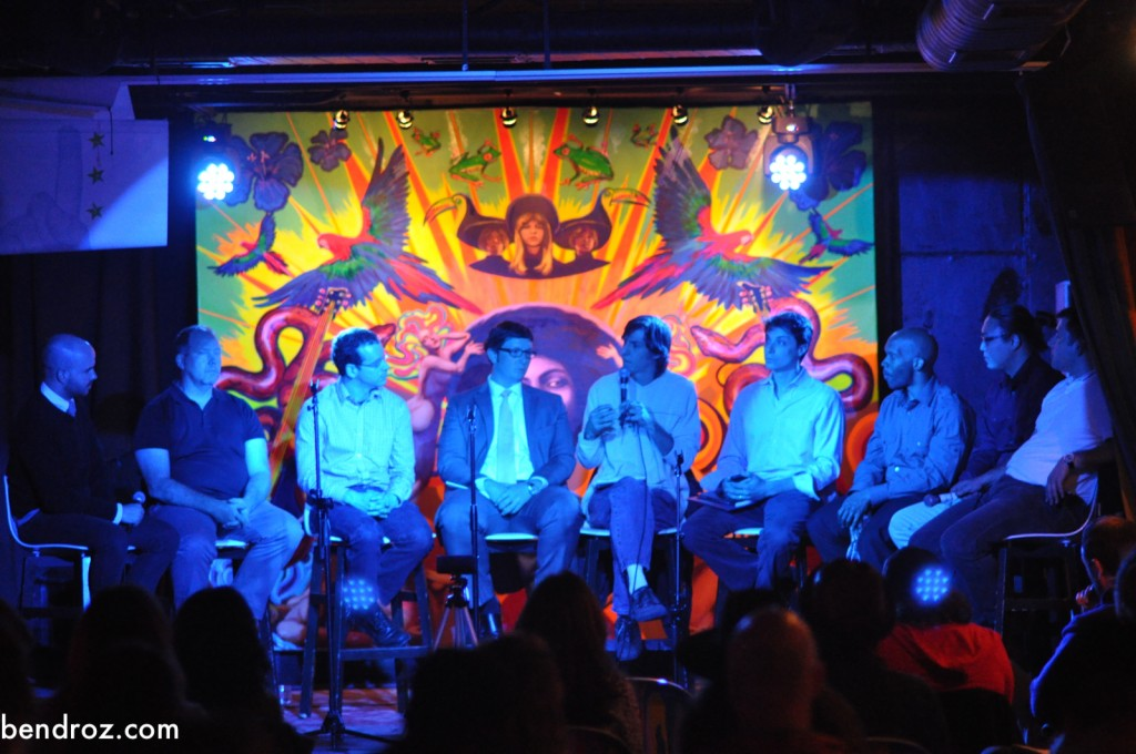 The full panel at Tropicalia, April 29, 2013.